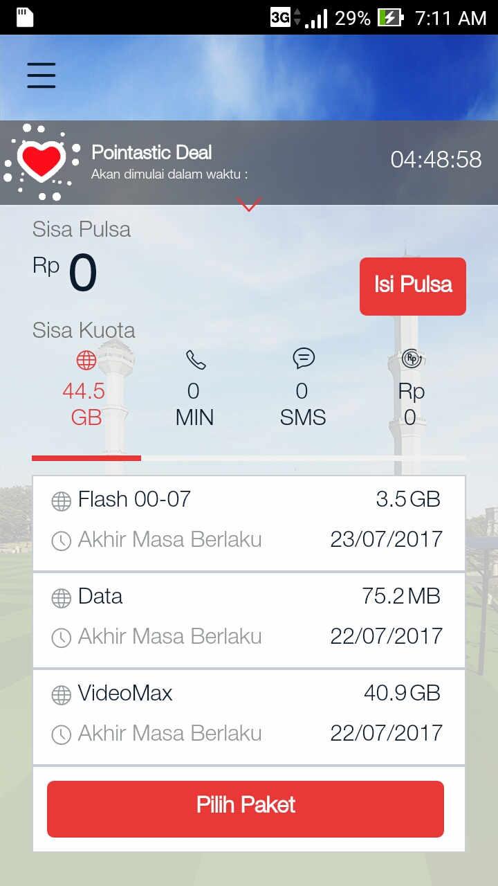 Cara Mudah Cek Kuota Internet Telkomselindosatxl3 Triaxis Koata Im3 9 Gb Triaxissmartfren