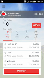 Cara Mudah Cek Kuota Internet Telkomsel,Indosat,XL,3 (tri),Axis,Smartfren