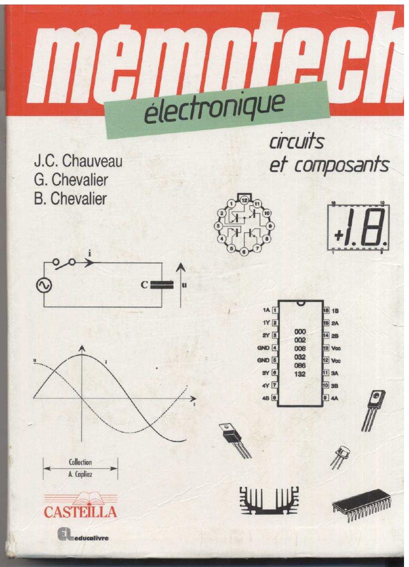 PDF ÉLECTRONIQUE TÉLÉCHARGER MÉMOTECH