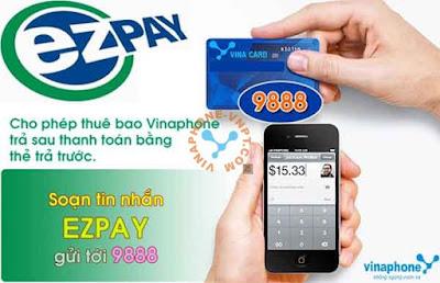 Thanh toán cước VinaPhone trả sau bằng thẻ cào