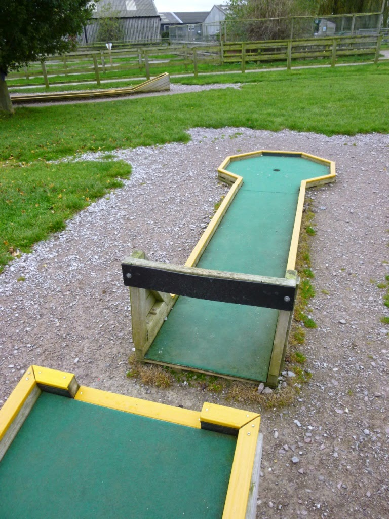 Crazy Golf at Mead Open Farm