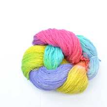 hand dyed wool yarns