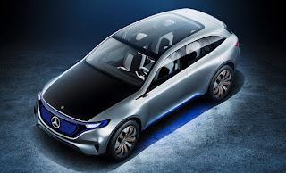 Mercedes-Benz EQ  Interiors: 24-inch screen (HD)