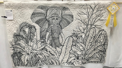 ecqg georgia celebrates quilt show east cobb 2017 ben hollinsgworth a celebration of lines zentangle