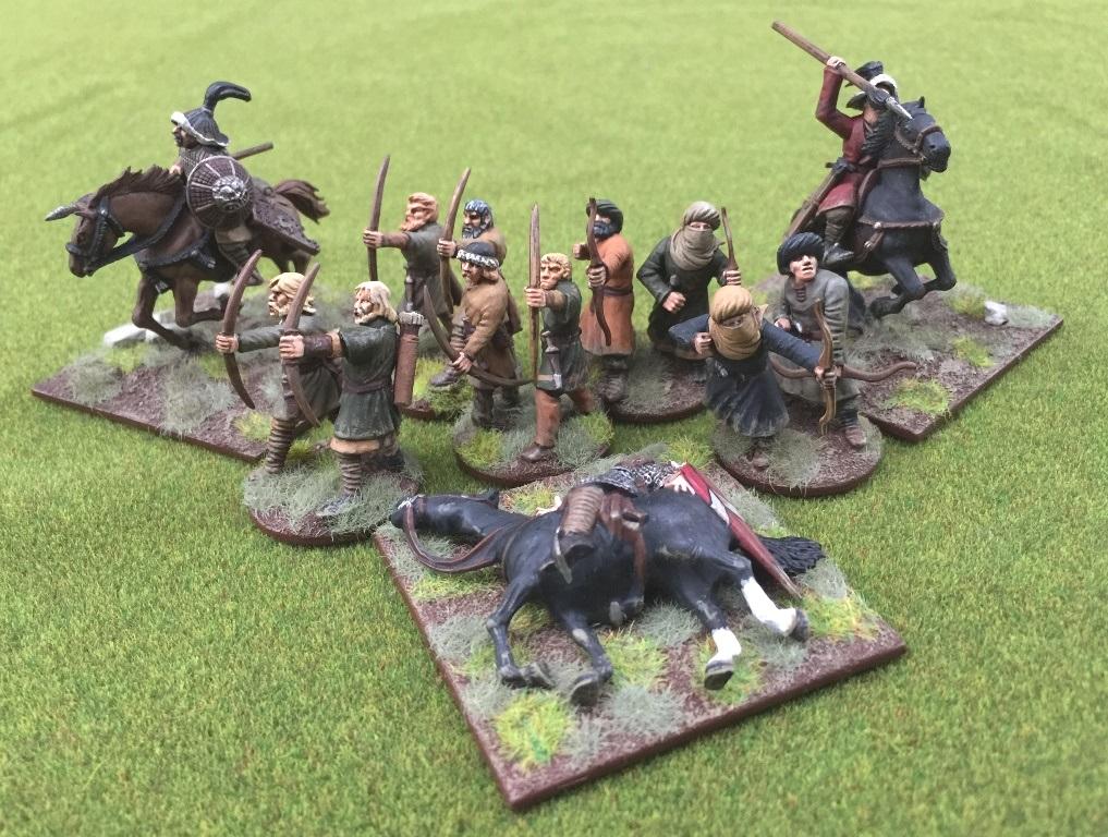28 mm Elizabethan 6 x English Longbow men figures