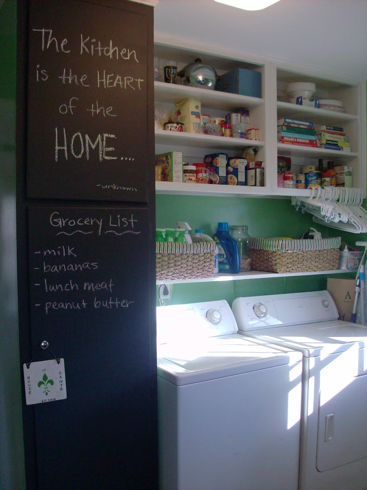 chalkboard in kitchen island base only simple and sweet pea wall the