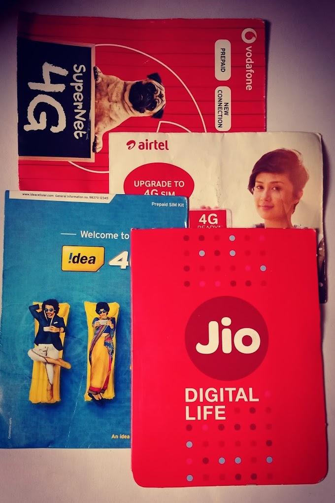 ALL TELECOM COMPANY USSD CODE Vodafone, Idea, BSNL, Tata Docomo, Airtel and JIo