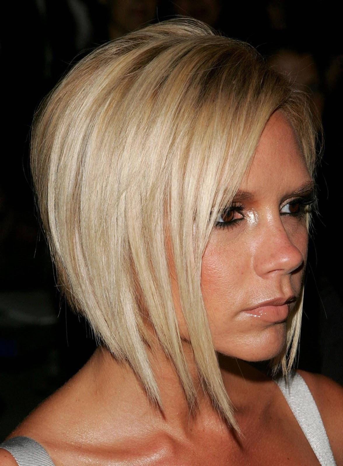 Victoria Beckham Hairstyles Short Hair