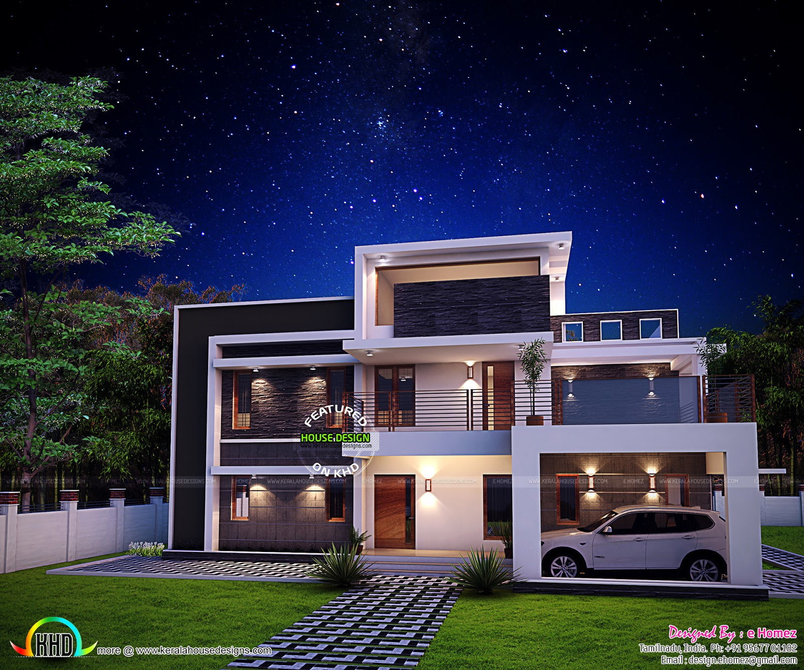 Kerala Home Design And Floor Plans 2611 Sq Ft Awesome