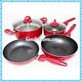Jual Panci Supra Stainless Steel 7 Set Piece Rosemary Murah