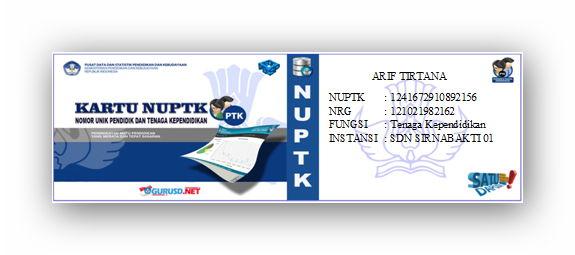 Image Result For Nuptk Net Info Pendidikan Dan Nuptk Terbaru