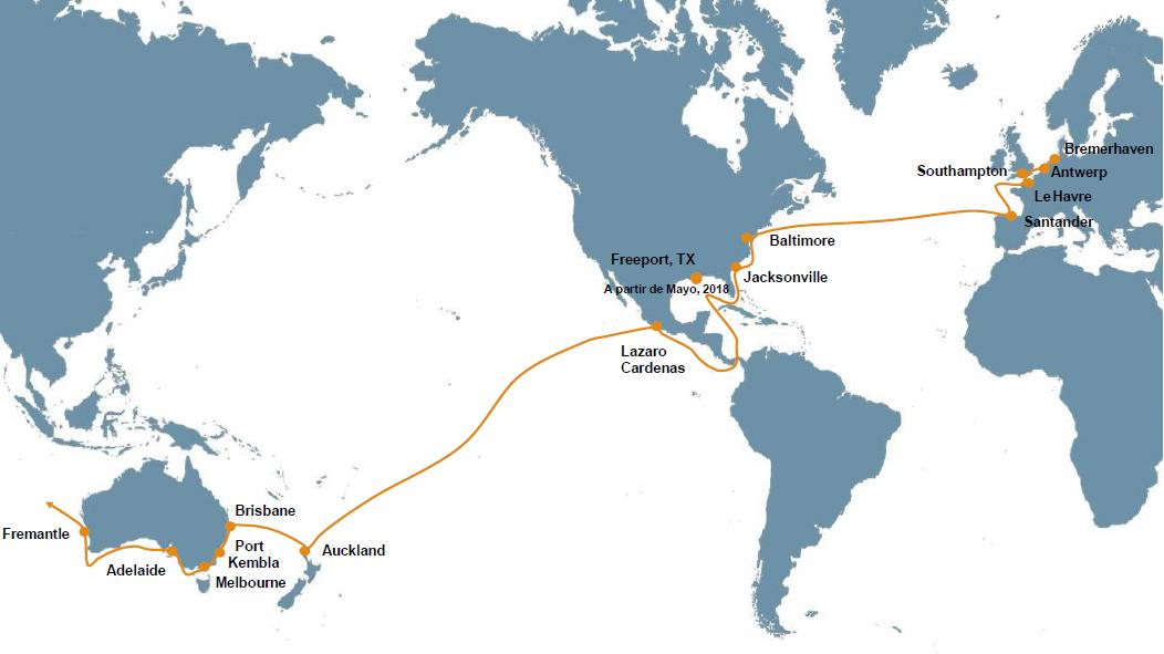 MarPort Activities : Hoegh Autoliners - Tráfico Marítimo