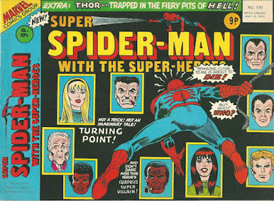 Super Spider-Man with the Super-Heroes #170, death of Gwen Stacy