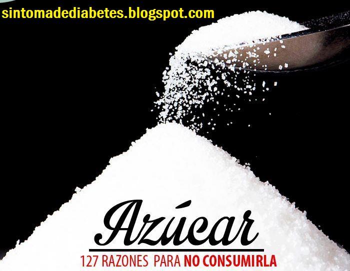 SINTOMAS DE DIABETES: Porque No Consumir Azucar