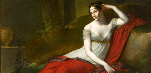 Josefina Beauharnais y Napoleon Bonaparte
