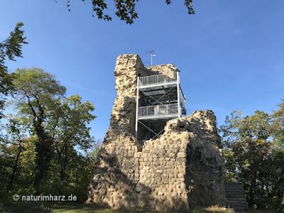 Kleine Lauenburg, Stempelstelle 187 der Harzer Wandernadel