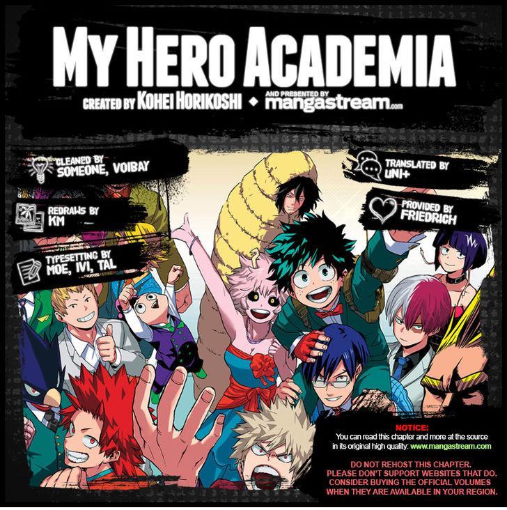 Boku no Hero Academia - Chapter 81