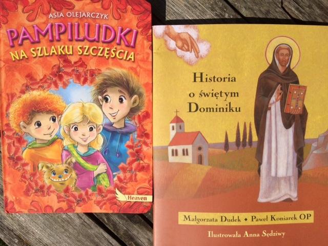 """""""Historia o Świętym Dominiku"""" i """"Pampiludki na szlaku szczęścia"""""""