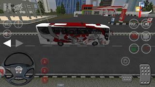 Bus Simulator Indonesia (BUSSID) 3D Mod Apk Unlimited Money