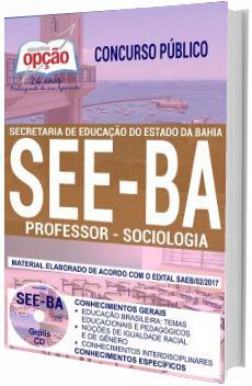 Apostila SEE-BA 2018 Professor de Sociologia
