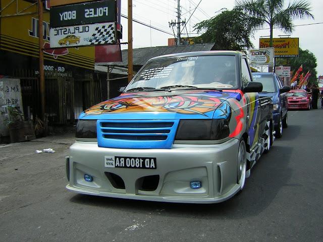 Modifikasi Mobil Pick Up L300
