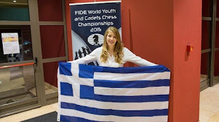 Η Σταυρούλα Τσολακίδου παγκόσμια πρωταθλήτρια στο σκάκι νέων