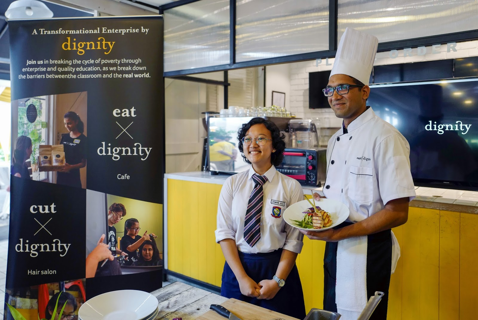 Event: The Eat X Dignity Relaunch