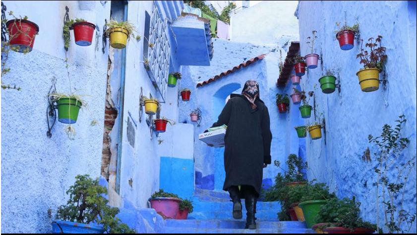 تجربة فتاة مصرية في السياحة في شفشاون المغرب