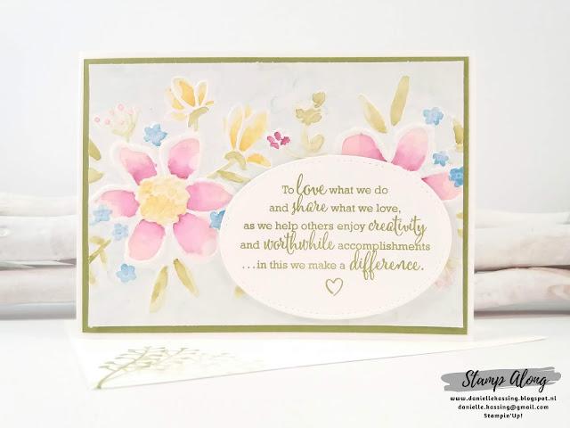Stampin'Up! Lovely Floral embossing folder