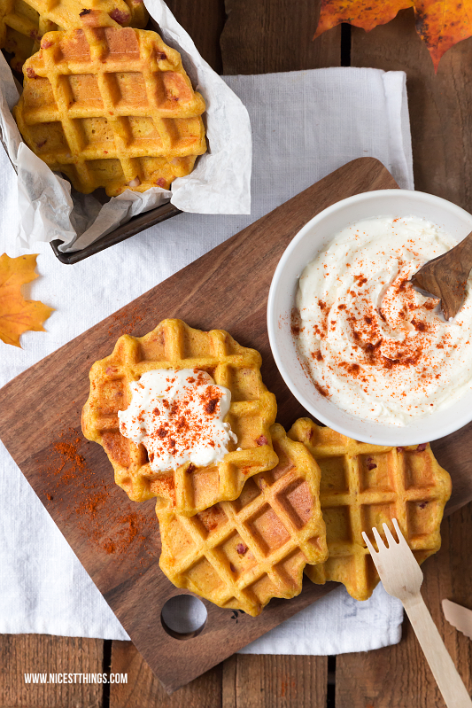 Pumpkin Waffles Spicy Recipe