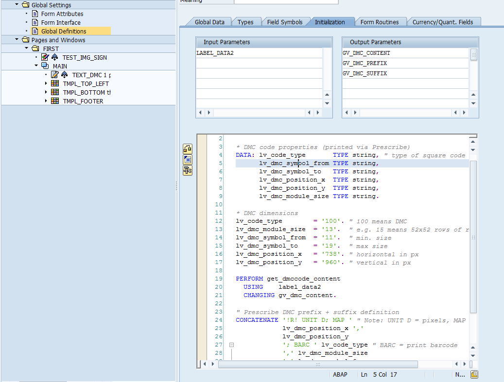 HavliCzech: SAP Smartforms + KYOCERA printer = DMC, QR codes work