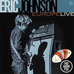 Eric Johnson Europe Live 2014 CD