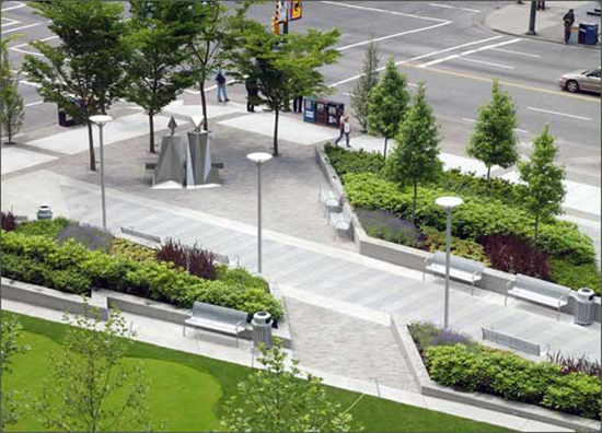 gambar inspiratif taman publik