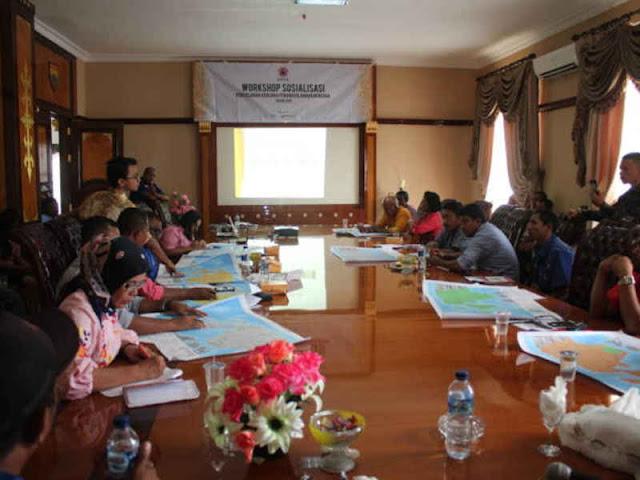 BPBD SBB dan DRR Gelar Workshop Sosialisasi Penanggulangan Bencana