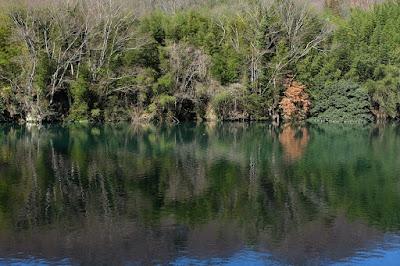 長野県生坂村 犀川(さいがわ) 深緑