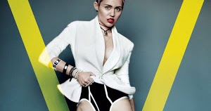 Hots Miley Cyrus Nude V Magazine Pic