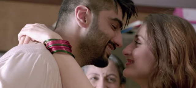 Arjun Kapoor & Kareena Kapoor from the movie Ki & Ka.
