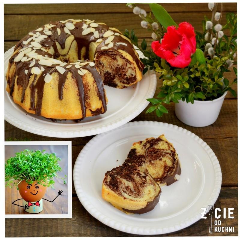 przepisy z jajem, wielkanoc, wielkanocna babka, wielkanocne wypieki, wielkanocne ciasta, babka z czekolada, zycie od kuchni, przepisy na wielkanoc