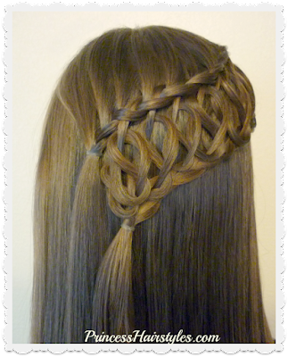 Squiggle knot braid video tutorial