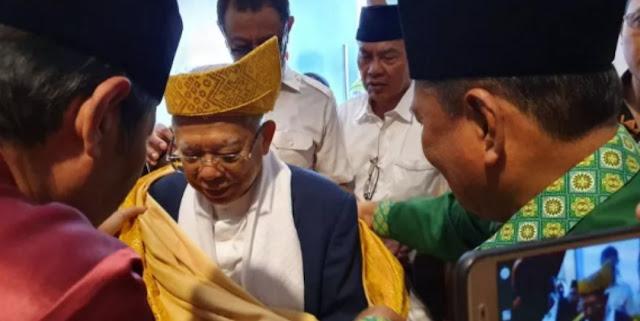 Kiai Ma'ruf: Panggung Debat seperti Forum Bahtsul Masail NU