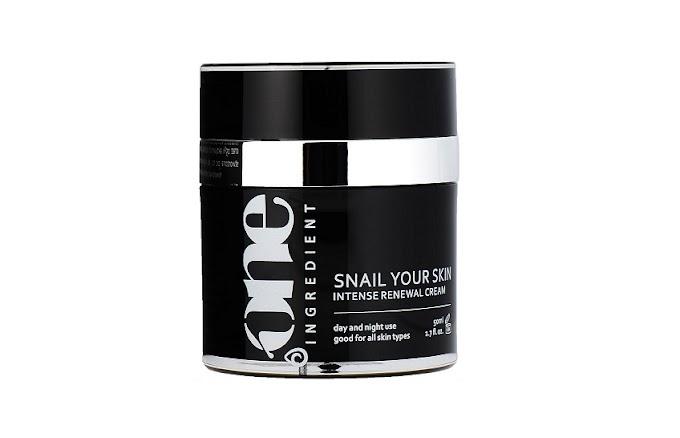 ONE INGREDIENT Intensywny Krem Odnawiający Snail Your Skin - o tym jak podrażnił moją skórę