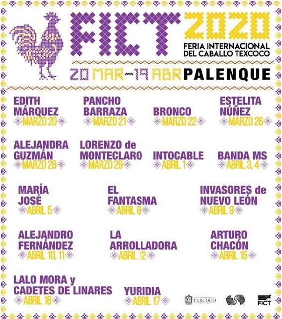Palenque en FICT 2020 compra boletos ver precios y zonas vip hasta adelante