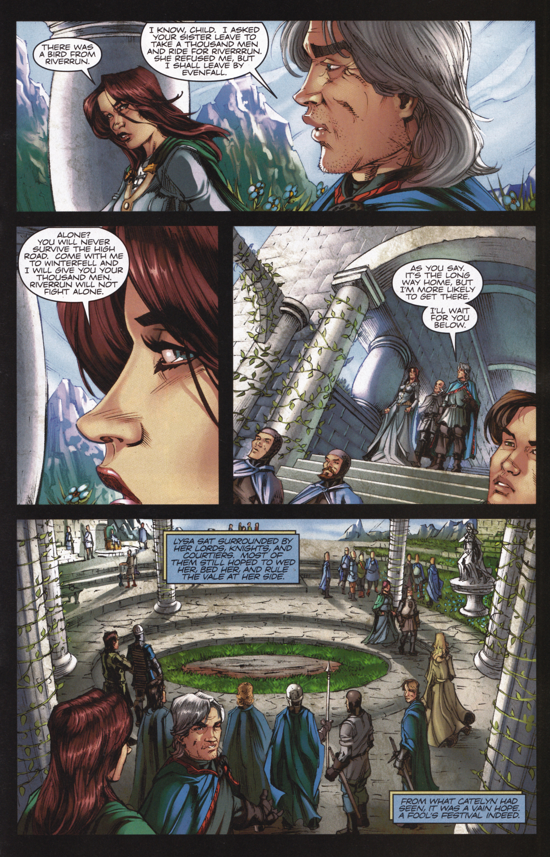 Read online A Game Of Thrones comic -  Issue #13 - 21
