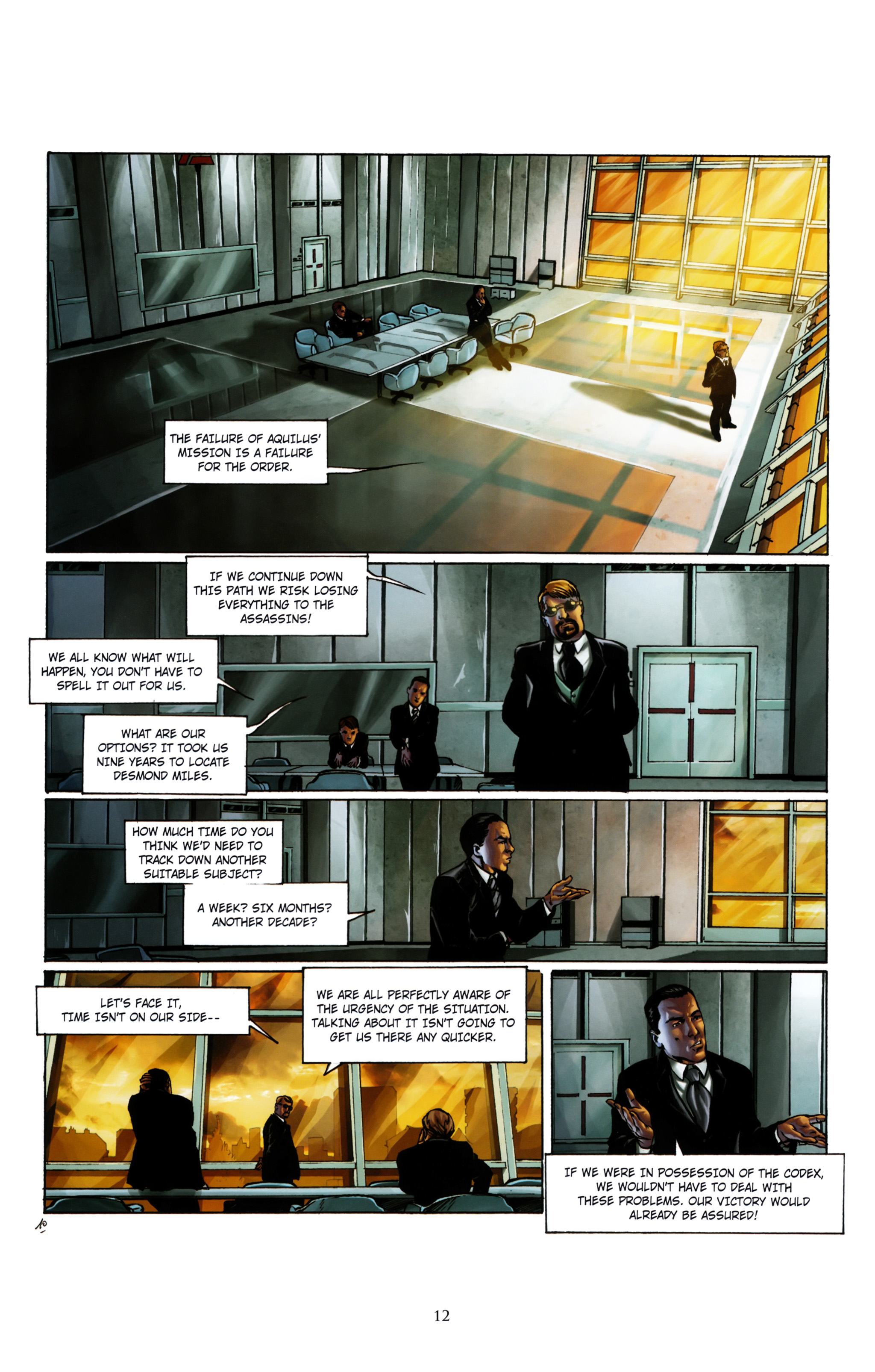 Read online Assassin's Creed (2012) comic -  Issue #1 - 16
