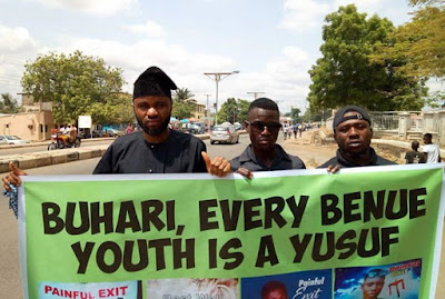 Empty Streets, Protests As Buhari Visits Benue State
