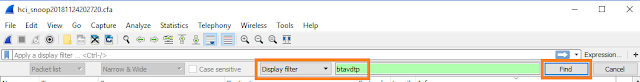 btavdtp WireShark