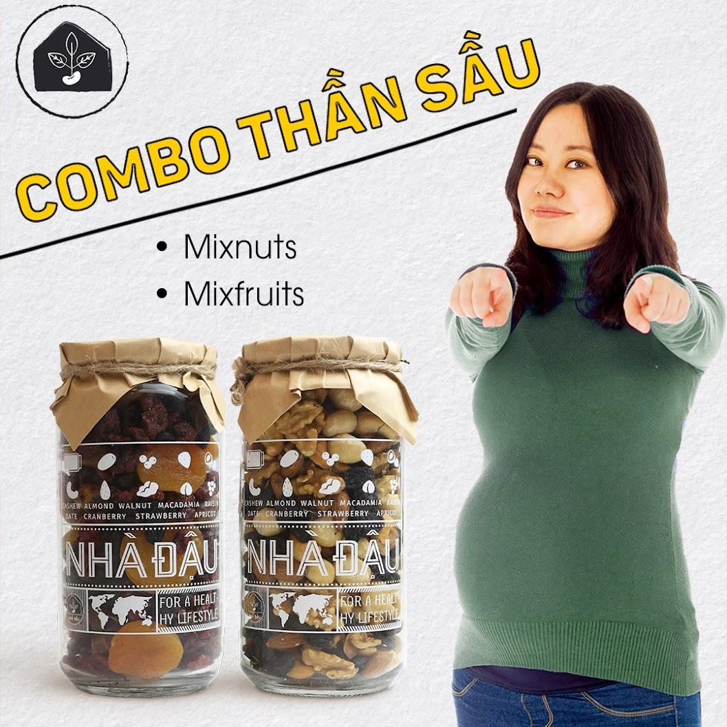 Combo ăn vặt giúp Mẹ Bầu hết mệt mỏi mà không lo tăng cân