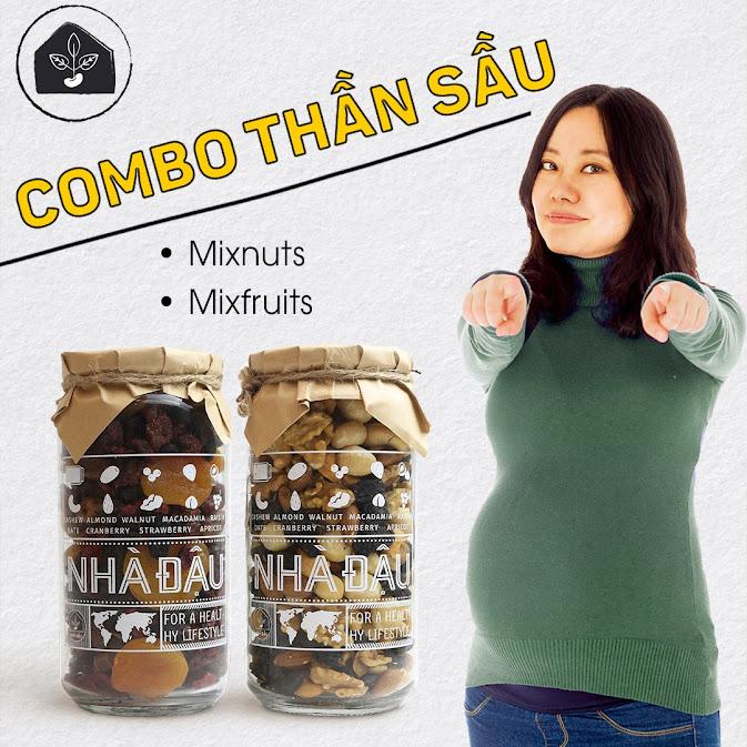 Mẹo mua combo dinh dưỡng Bà Bầu nên ăn khi mang thai
