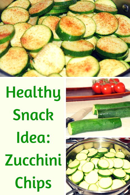 healthy snack zucchini chips
