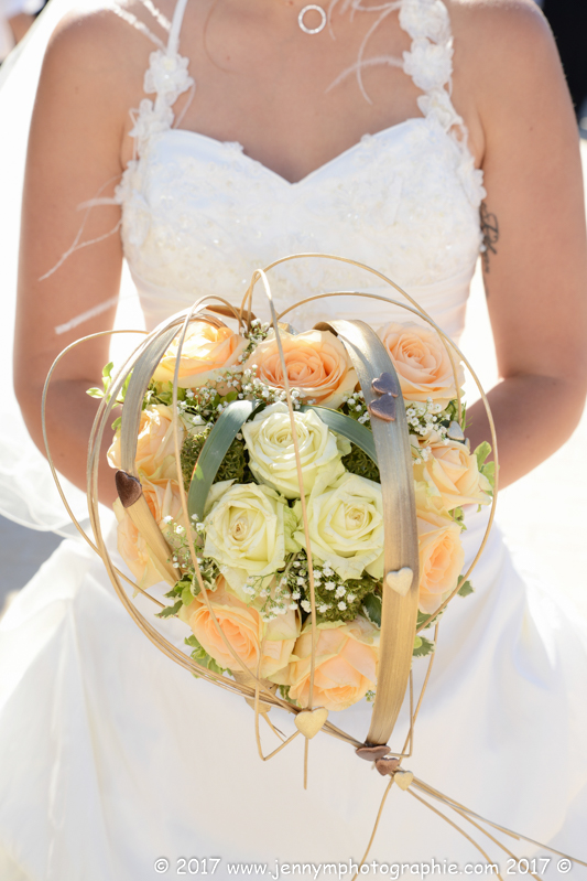 le bouquet de la mariée photo
